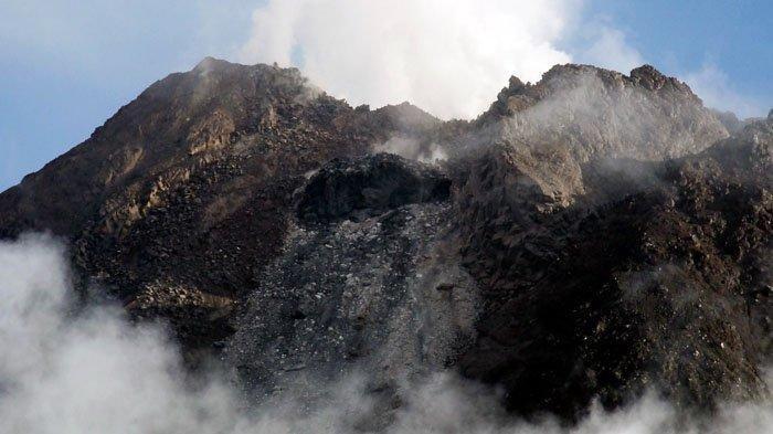 Muncul Kubah Lava Baru di Gunung Merapi, Pemukiman di Luar 5 Kilometer Aman