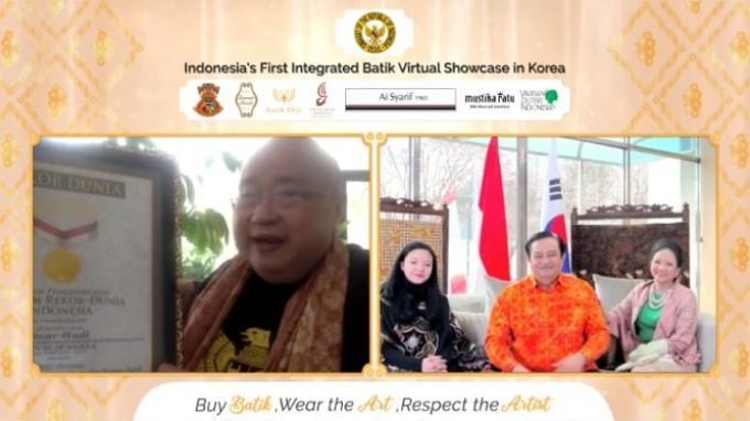 Promosi Batik Virtual di Seoul Gaet Transaksi Lebih dari Rp 1 Miliar