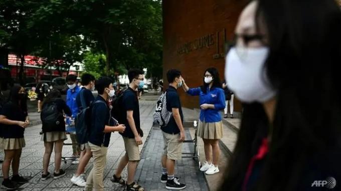 Setelah 'Libur' 3 Bulan karena Corona, Siswa di Vietnam Kembali Sekolah