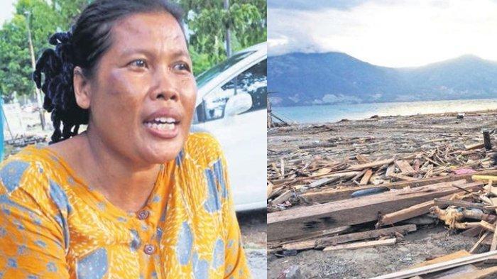 Tak Pejamkan Mata Saat Digulung Ombak Tsunami Palu, Musfriatun Sebut Sempat Terseret ke Dasar Laut