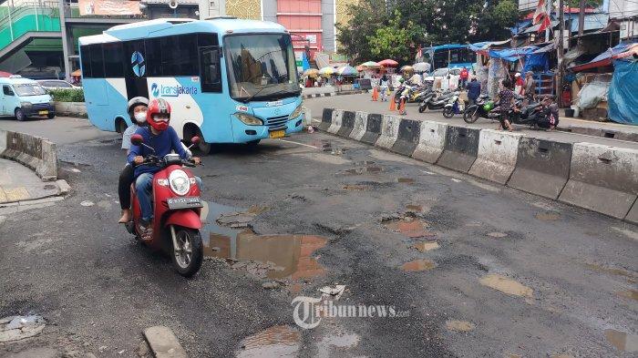Nyaris 9 Ribu Titik Jalan Rusak DKI Diperbaiki Selama Januari - Februari 2021