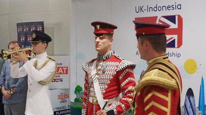 British Army Musicians Tampil Di Stasiun MRT Dukuh Atas dan Terowongan Kendal