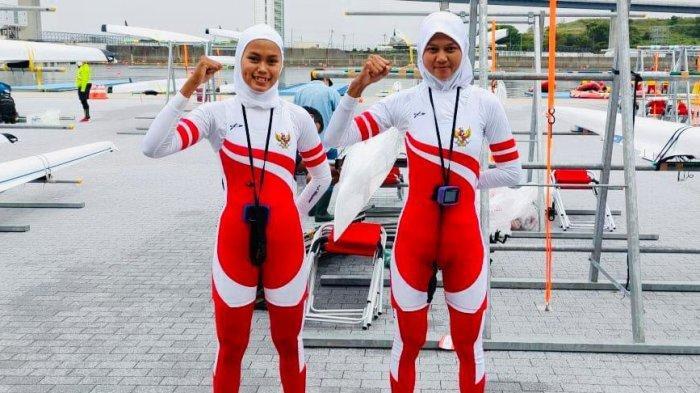 Dua atlet dayung putri Indonesia, Mutiara Rahma Putri/Melani Putri resmi tampil di Olimpiade Tokyo 2020 usai lolos Kualifikasi Olimpiade Rowing Zona Asia/Oceania di Jepang