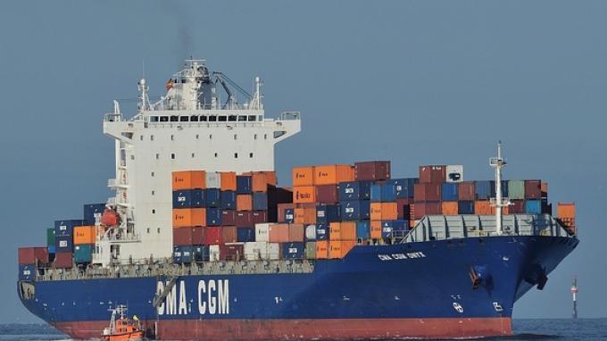 MV Navios Amarnth Sandar di Pelabuhan Petikemas JICT