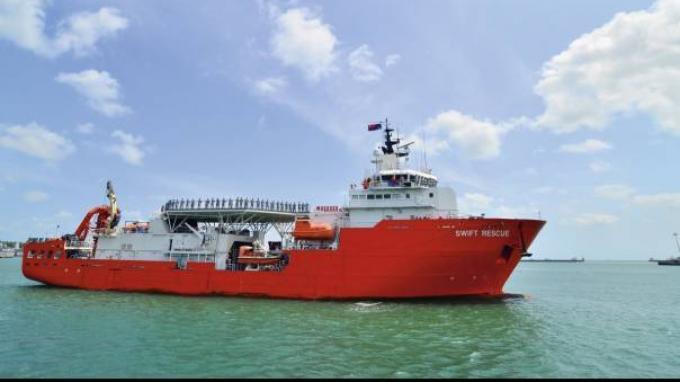Profil MV Swift Rescue, Kapal Singapura yang Berhasil Foto KRI Nanggala 402 di Kedalaman 838 Meter