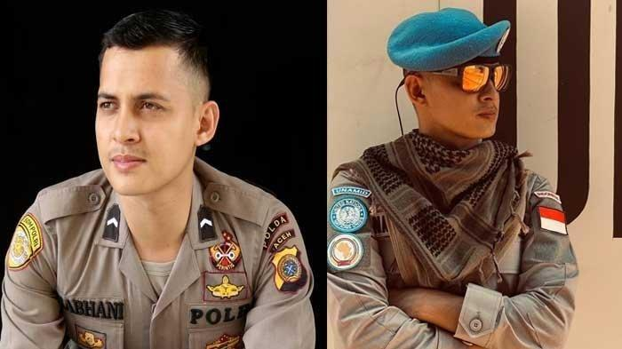 Nabhani Akbar, polisi berpangkat Briptu asal Polda Aceh yang kini tengah bertugas di Sudan dalam misi perdamaian PBB sebagai penerjemah Bahasa Arab.