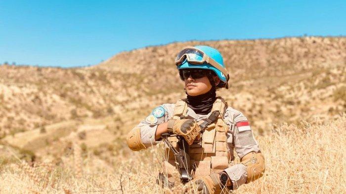 Nabhani Akbar tengah bertugas di Sudan.