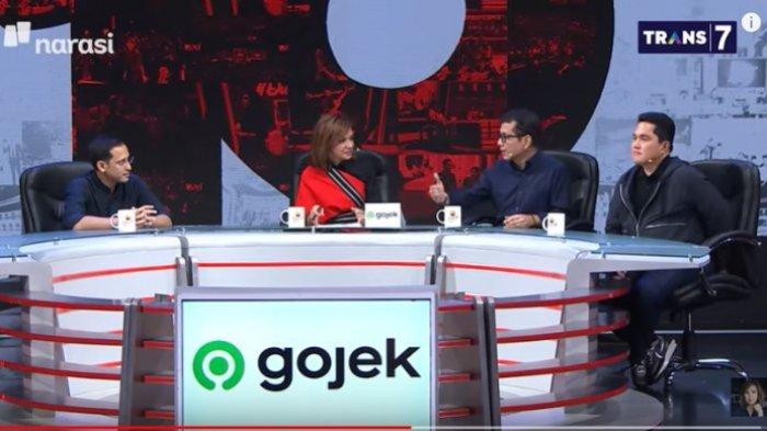 Erick Thohir Bicara Soal Tukar Posisi hingga Jokowi yang Gila Kerja: Bukan Keluarkan Kata Kasar