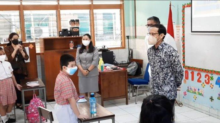 40 Persen Sekolah Sudah Gelar PTM, Menteri Nadiem: Angka Itu Masih Sangat Kecil