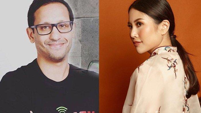 Nadiem Makarim dan Angela Tanoesoedibjo
