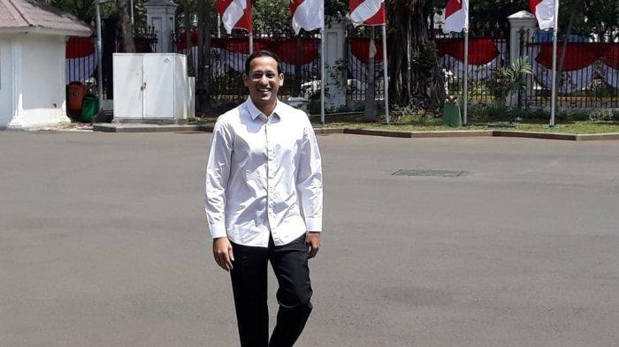 Nadiem Makarim mengaku diminta Presiden Joko Widodo (Jokowi) untuk bergabung dalam Kabinet Kerja jilid ll.