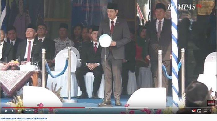 Inovasi Baru, Pidato Nadiem Makarim di Hari Guru Nasional Disampaikan Lewat Video.