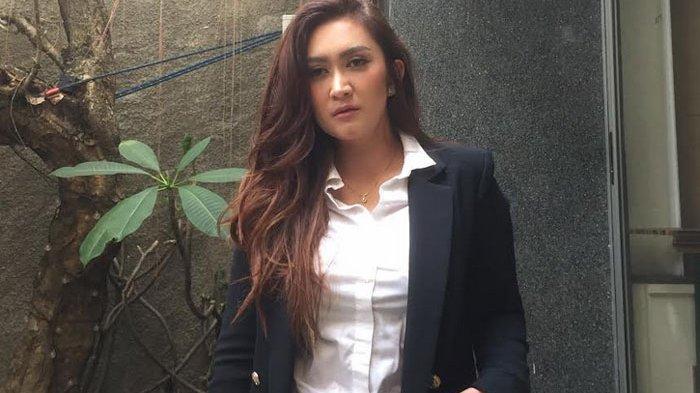 Nafa Urbach, saat ditemui di kawasan Kemang, Jakarta Selatan, Kamis (27/6/2019).