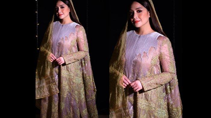 Nagita Slavina di video klip Alhamdulillah
