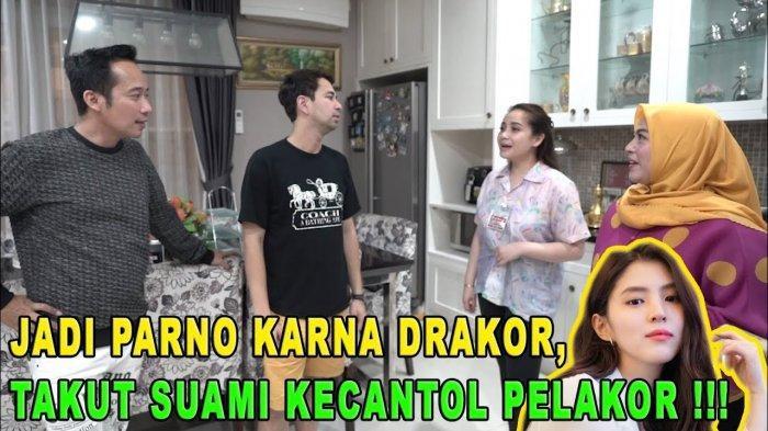 Denny Cagur Tak Larang Istri Nonton Drama Korea, Nagita Slavina Iri