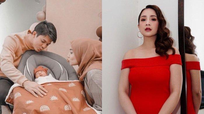 Nagita Slavina menangis sesenggukan setelah Zaskia Sungkar akhirnya melahirkan Ukkasya, begini respons Irwansyah.