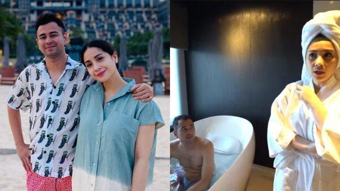 Raffi Ahmad Kesal Nagita Slavina Ngidam Menginap di Hotel Rp 150 Juta, Dilengkapi Bathub Rp 200 Juta