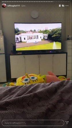 Nagita SLAVINA NONTON TV