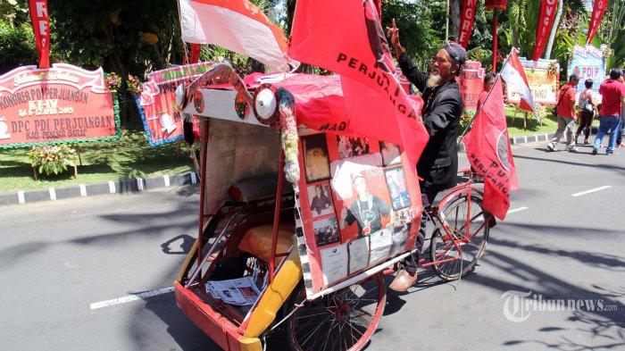 Kayuh Becak dari Surabaya ke Bali, Sukirman: Saya Hanya Ingin Foto Bersama Bu Mega