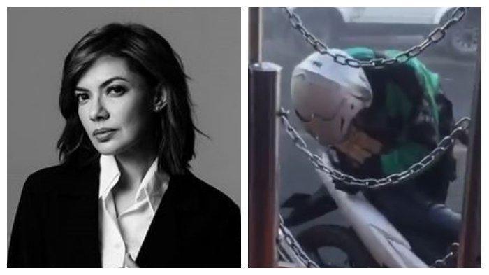 Najwa Shihab Sampai Terharu, Aksi Ojol Lindungi Pizza dari Semprotan Disinfektan Tuai Pujian