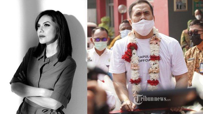 Najwa Shihab turut berkomentar soal penyambutan saat bebasnya pedangdut Saipul Jamil dari Lapas Cipinang, Jakarta Timur.