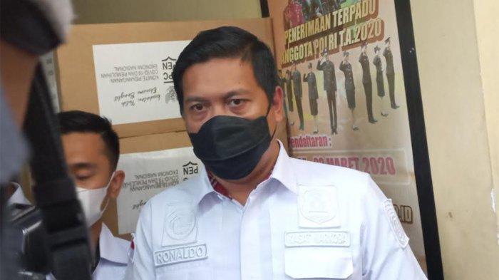 Kasat Narkoba Polres Metro Jakarta Barat, AKBP Ronaldo Maradona Siregar