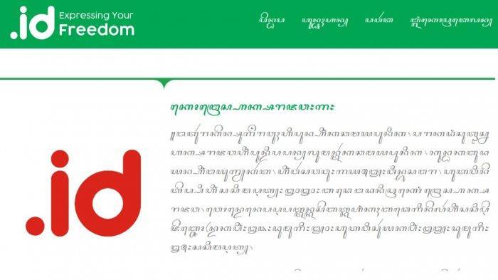 Soal Pengajuan Domain Aksara Jawa ke ICANN, PANDI Masih Tunggu Restu Pemerintah