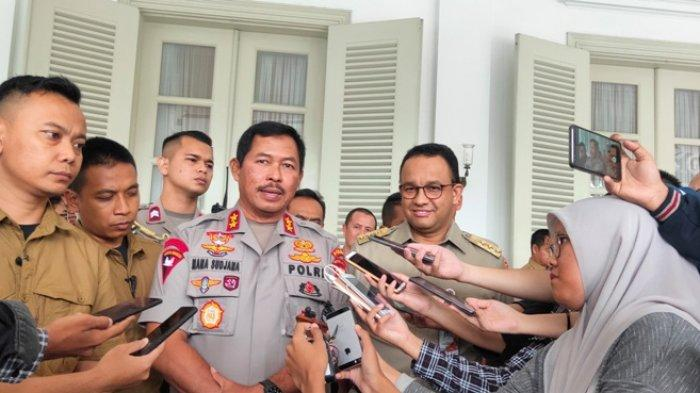 Kapolda Metro Jaya, Irjen Nana Sudjana menjelaskan mengenai penegakan hukum terkait penerapan Pembatasan Sosial Berskala Besar (PSBB) di DKI Jakarta.
