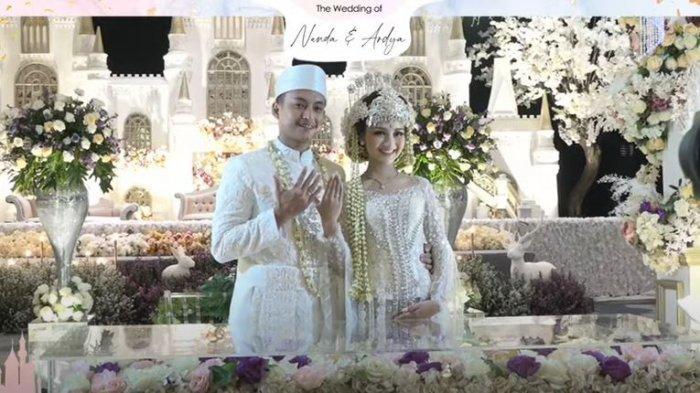 Nanda Arsyinta resmi menikah