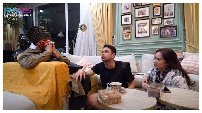 Dorce Gamalama, Raffi Ahmad, Nagita Slavina, Selasa (9/6/2020). Dorce menangis saat menemui Raffi Ahmad dan Gigi untuk meminta langsung menjadi sopir pribadi.