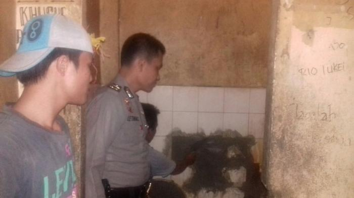 Dinding Kamar Mandi Sel Tahanan yang Dicongkel Langsung Disemen