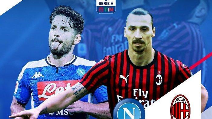 Napoli vs AC Milan, pekan 32 Liga Italia