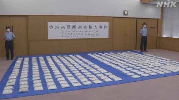 Narkoba 300 Kg Senilai 17,8 Miliar Yen Diselundupkan ke Jepang, 2 WNA Ditangkap