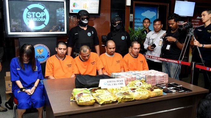 Kapuspen TNI: TNI Gagalkan Penyeludupan Narkoba Jaringan Internasional