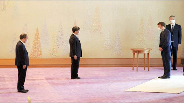 Kaisar Jepang Terima 12 Kepala Negara pada Pembukaan Olimpiade dan Sampaikan Harapannya