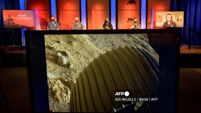 NASA Rilis Video Dramatis Pendaratan di Mars, Lengkap dengan Foto-foto Berwarna dan Rekaman Suara