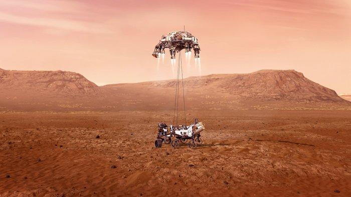 Robot NASA Berhasil Mendarat di Mars, Bagikan Potret Pertama Menjejakkan Kaki di Planet Merah