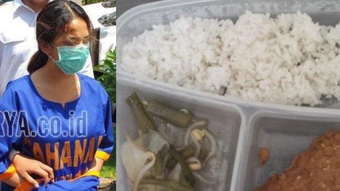 Nasi cadong yang dimakan Vanessa di penjara