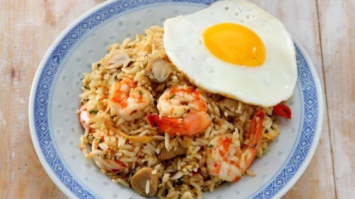 Nasi goreng ala Thai. (Sajiansedap.grid.id)