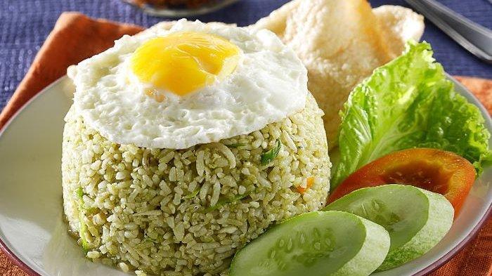 Resep Nasi Goreng Hijau Terasi, Menu Spesial untuk Makan Malam