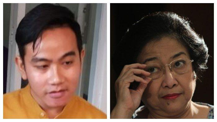 Gibran Rakabuming Raka dan Megawati Soekarnoputri
