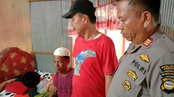 Nasib nahas dialami Ummu Kalsum (20), warga Dusun Adolang, Desa Lero, Kecamatan Suppa, Kabupaten Pinrang.