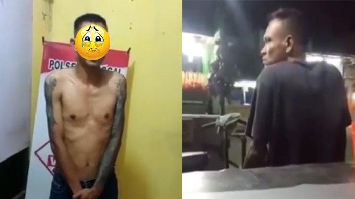 Nasib Preman Palak Penjual Sate di Medan, Video Penangkapan Tersebar, Minta Maaf di Kantor Polisi