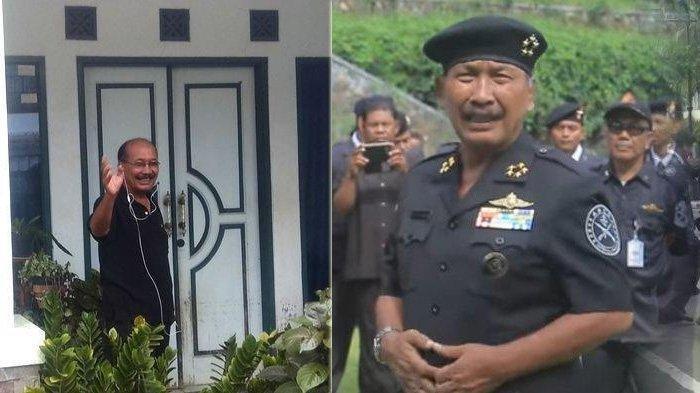 Nasri Banks, Grand Prime Minister di Sunda Empire, sosok yang lebih tinggi di atas Rangga Sasana. Dia terlihat dominan dalam sejumlah tayangan video di media sosial. (Foto: Tribunjabar.id/Mega Nugraha- Istimewa)