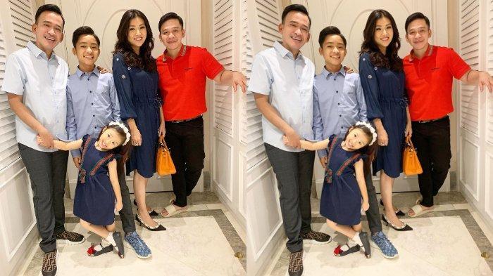 Ruben Onsu Rayakan Natal Pertama Bareng Betrand Peto dan Thania: Kami Sangat Menunggu Malam Ini