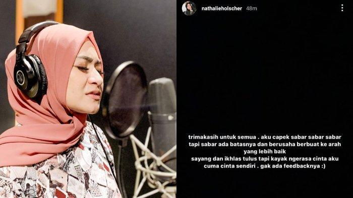 Nathalie Holscher Mengaku Capek Sabar: Aku Cuma Cinta Sendiri, Gak Ada Feedback-nya