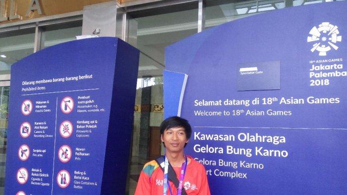 Cerita Volunteer Asian Games 2018: 'Amankan' Fotografer Agar Tak Tenggelam di Pantai Ancol