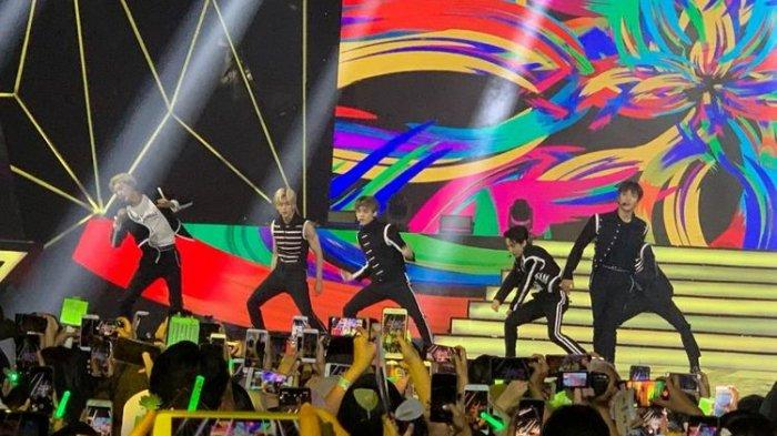 Berbahasa Indonesia Saat Manggung di Ancol, Boyband Korea NCT Dream Ucapkan Mantul
