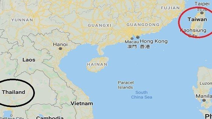 Mengapa Taiwan dan Thailand Namanya Hampir Mirip? Ternyata Begini Asal-usulnya