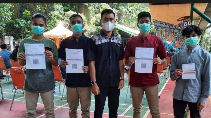 4 Nelayan Anak Bawah Umur KM Rizky Laot yang Diamankan Otoritas Laut Thailand Diterbangkan ke Aceh